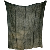 Kaya GreenGray Cotton Cotton Mosquito Net 4 Panels Hand Sewn Together
