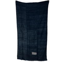Indigo Cotton Kaya Mosquito Netting 3 Panels Hand Sewn Together