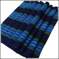 Old Stripe Cotton Indigo Textile