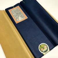 Uraji Solid Indigo Cotton Fabric Bolt 105 yards 950 cm