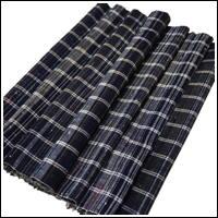 Zanshi Weaving Indigo Cotton Textile Panel