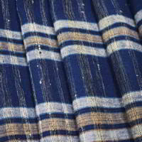 Zanshi Weaving Indigo Cotton Textile Panel