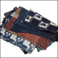 Zokin Sashiko Cotton Dust Cloth Set 4