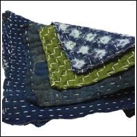 Zokin Sashiko Dust Cloth Set 4