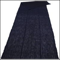 Length Of Lovely Dark Indigo Kaya Mixed Hemp  Cotton Mosquito Netting