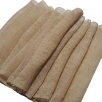 Length Of Old Natural Beige Hemp Kaya Mosquito Netting