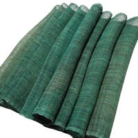 Lovely Slightly Variegated Green Hemp Kaya Mosquito Netting
