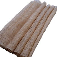 Kaya Length Of Extra Wide Natural Beige Color Hemp Mosquito Netting