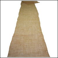Length Of Old Kaya Mosquito Netting Natural Hemp Cotton Mix