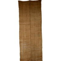 Extra Long Wide Old Kaya Mosquito Netting 2 Panels Natural Beige