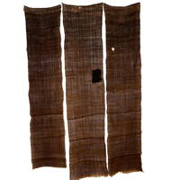 Wonderful Lengths Of Rustic Hemp Kaya Mosquito Netting Rare Walnut Color 3 Panel Set On Reserved