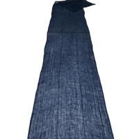 Kaya Long Length Of Wonderful Indigo Hemp Mosquito Netting