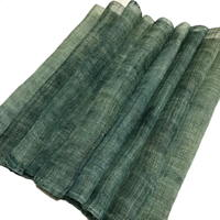 Length Of Old Beautiful Variegated Green Hemp Kaya Mosquito Netting