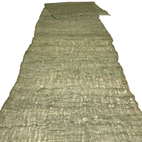 Length Of Old Kaya PeaGreen Hemp  Cotton Mosquito Netting