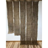 5 Lengths Of Old Kaya Hemp Mosquito Netting