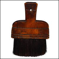 Senshoku Hake Traditional Handmade Craftsmans Bristle Dye Brush