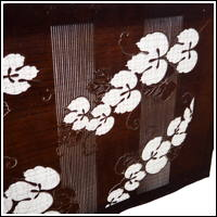 Large Ise Katagami Japanese Katazome Stencil Used For ResistDyeing Fabric