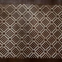 Large Ise Katagami Washi Paper Stencil Used For Katazome ResistDyeing Fabric