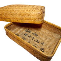 Old Hand Crafted YanagiGori Storage Box